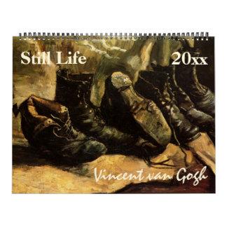 Vincent van Gogh Still Life Vintage Fine Art Calendar