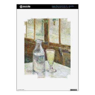Vincent Van Gogh Still Life With Absinthe Fine Art Decals For iPad 3