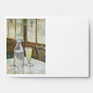 Vincent Van Gogh Still Life With Absinthe Fine Art Envelopes