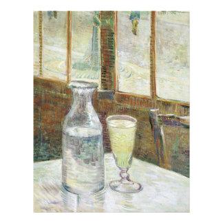 Vincent Van Gogh Still Life With Absinthe Fine Art Flyer
