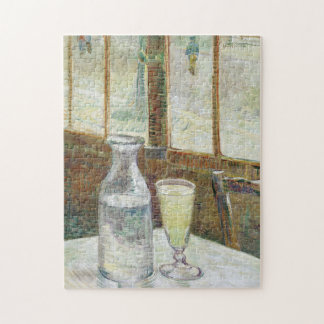 Vincent Van Gogh Still Life With Absinthe Fine Art Jigsaw Puzzle