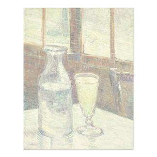 Vincent Van Gogh Still Life With Absinthe Fine Art Letterhead