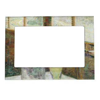 Vincent Van Gogh Still Life With Absinthe Fine Art Magnetic Picture Frame
