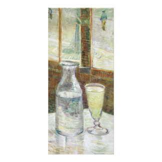 Vincent Van Gogh Still Life With Absinthe Fine Art Rack Card