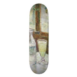 Vincent Van Gogh Still Life With Absinthe Fine Art Skateboard Deck