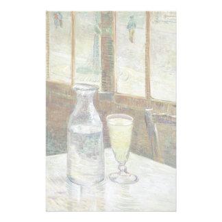 Vincent Van Gogh Still Life With Absinthe Fine Art Stationery