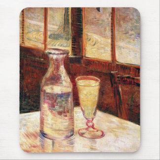 Vincent Van Gogh - Still Life with Absinthe Mouse Pad
