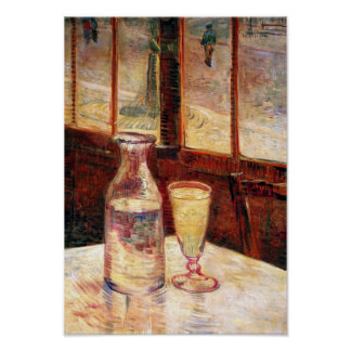 Vincent Van Gogh - Still Life with Absinthe Poster