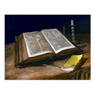 Vincent van Gogh Still Life with Bible Postcard