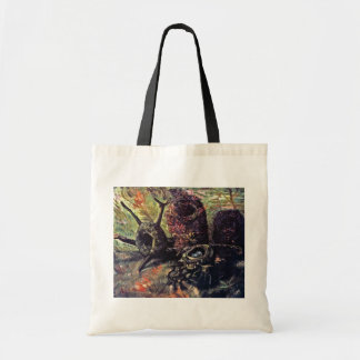 Vincent Van Gogh - Still Life With Birds Nests Tote Bag