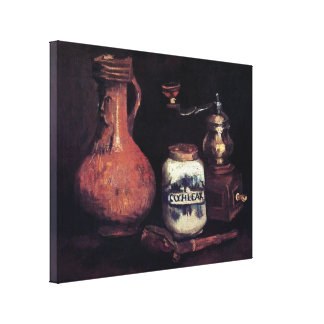 Vincent Van Gogh - Still Life With Coffee Mill Canvas Print