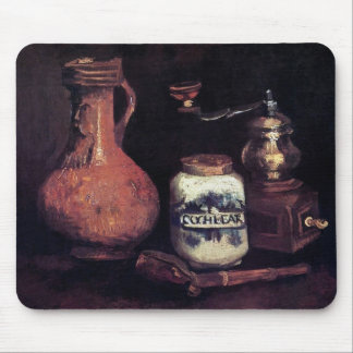 Vincent Van Gogh - Still Life With Coffee Mill Mouse Pad