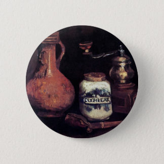 Vincent Van Gogh - Still Life With Coffee Mill Pinback Button