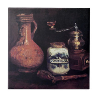 Vincent Van Gogh - Still Life With Coffee Mill Tile