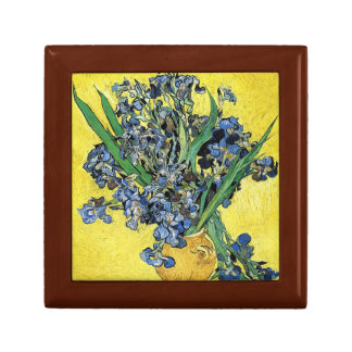 Vincent Van Gogh - Still Life with Irises Jewelry Boxes