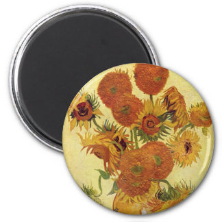 Vincent van Gogh - Still Life with Sunflowers Magnet