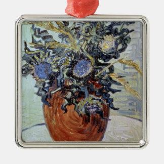 Vincent van Gogh | Still Life with Thistles, 1890 Metal Ornament
