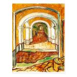 Vincent van Gogh sumario - pasillo en el asilo Postal
