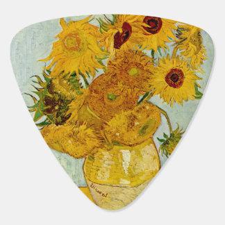 Vincent Van Gogh Sunflower Painting Guitar Pick