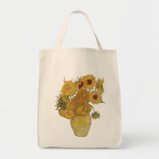 Vincent van Gogh Sunflower Tote Bag
