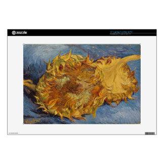 "Vincent van Gogh | Sunflowers, 1887 Skin For 15"" Laptop"