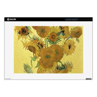 "Vincent van Gogh | Sunflowers, 1888 15"" Laptop Skin"