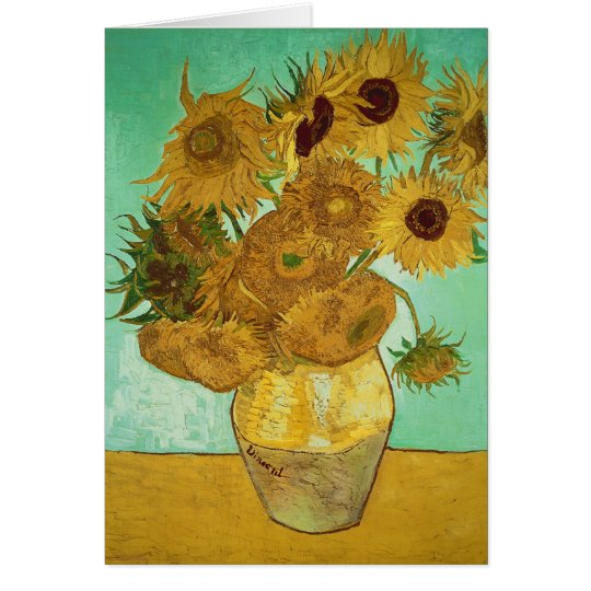 Vincent van Gogh | Sunflowers, 1888 Card