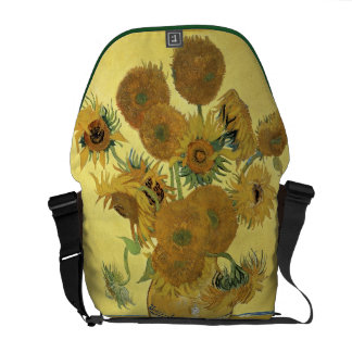 Vincent van Gogh | Sunflowers, 1888 Courier Bag