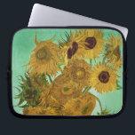 "Vincent van Gogh | Sunflowers, 1888 Laptop Sleeve<br><div class=""desc"">Image Collection Number:  BAL20294  Sunflowers,  1888 (oil on canvas). Gogh,  Vincent van (1853-90) oil on canvas. Neue Pinakothek,  Munich,  Germany .  1888</div>"