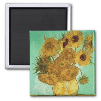 Vincent van Gogh   Sunflowers, 1888 Magnet