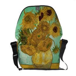 Vincent van Gogh   Sunflowers, 1888 Messenger Bag