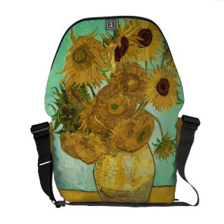 Vincent van Gogh | Sunflowers, 1888 Messenger Bag