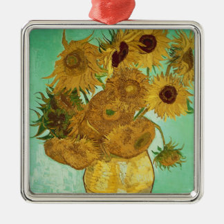 Vincent van Gogh | Sunflowers, 1888 Metal Ornament