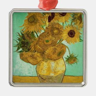 Vincent van Gogh | Sunflowers, 1888 Metal Ornament