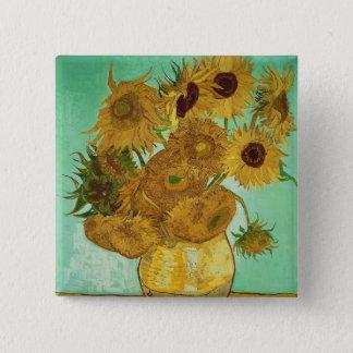 Vincent van Gogh | Sunflowers, 1888 Pinback Button