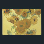 "Vincent van Gogh | Sunflowers, 1888 Placemat<br><div class=""desc"">Sunflowers,  1888 