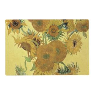 Vincent Van Gogh | Sunflowers, 1888 Placemat at Zazzle