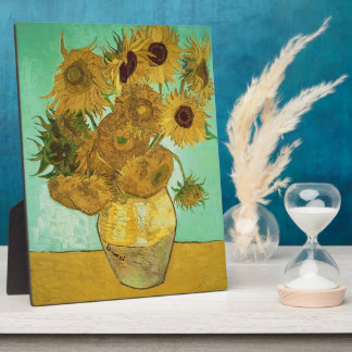 Vincent van Gogh | Sunflowers, 1888 Plaque