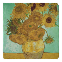 Vincent van Gogh | Sunflowers, 1888 Trivet