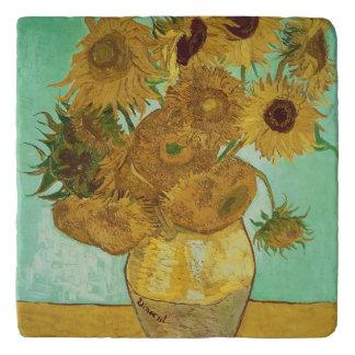 Vincent van Gogh | Sunflowers, 1888 Trivet