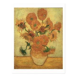 Vincent van Gogh | Sunflowers, 1889 Postcard