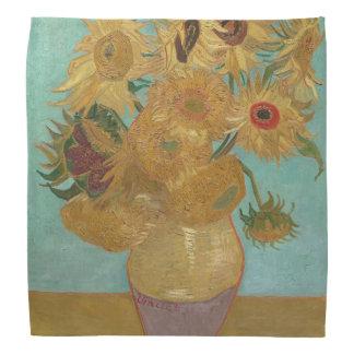 Vincent Van Gogh - Sunflowers Bandana
