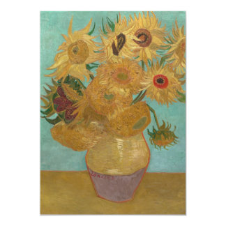 Vincent van Gogh - Sunflowers Card