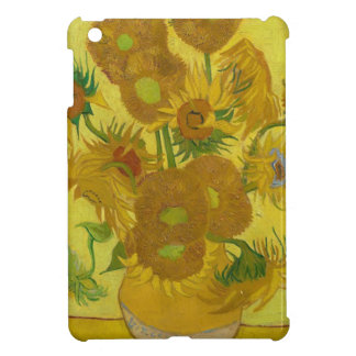 Vincent Van Gogh Sunflowers - Classic Art Floral Cover For The iPad Mini