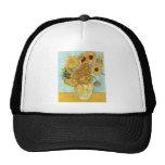 Vincent Van Gogh Sunflowers Hats