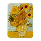 Vincent Van Gogh Sunflowers Magnet