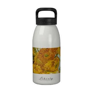 Vincent Van Gogh Sunflowers Masterpiece Water Bottles