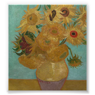 Vincent Van Gogh - Sunflowers Poster