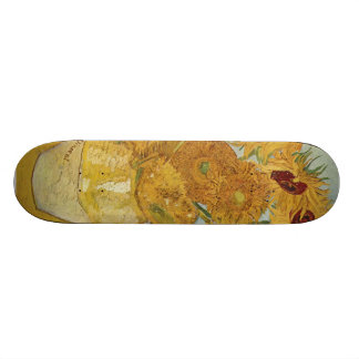 Vincent Van Gogh -  Sunflowers Skate Boards