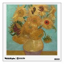 Vincent Van Gogh - Sunflowers Wall Decal
